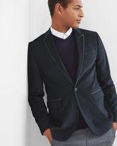 ERNEST Cotton pin dot blazer