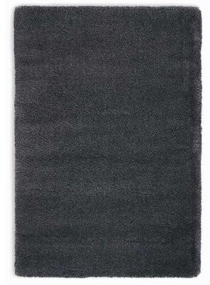 Calvin Klein Brooklyn Shag Charcoal Area Rug Rug Size: Rectangle 9' x 12'