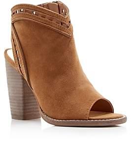 Dolce Vita Natasha Peep Toe Cutout Heel Booties