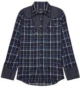 DSQUARED2 Western Plaid Flannel Shirt