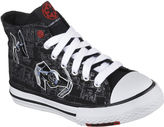 Star Wars Skechers Cayden Darth Vader Sith Lord Boys High-Top Shoes - Little Kids