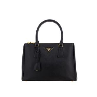 Prada Galleria Bag In Saffiano Leather With Logo