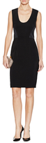L'Agence Scoopneck Sheath Dress