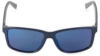 Salvatore Ferragamo Italian Lifestyle 52MM Rectangular Sport Sunglasses