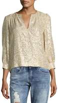 Elizabeth and James Women's Shelley Floral Blouse