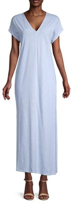 Pure Navy T-Shirt Maxi Dress