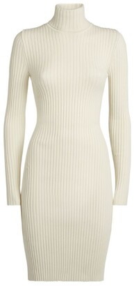 Wolford Wool-Cotton Ribbed Dress