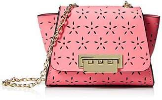 Zac Posen Eartha Mini Chain Crossbody-Floral Perf-Pink