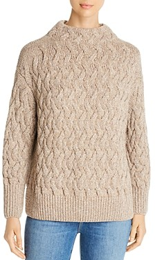 Lafayette 148 New York Cashmere Cable Knit Sweater