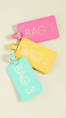 Shopbop @Home Bags 1,2,3 Luggage Tag Box Set