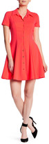 Amanda Uprichard Naomi Short Sleeve Dress