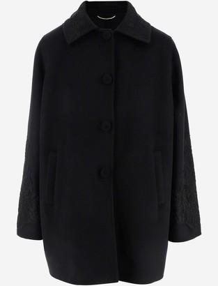 Ermanno Scervino Pure Virgin Wool Women's Oversize Coat