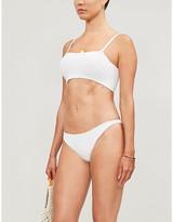 Hunza G Gigi square-neck high-leg bikini