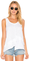 Wilt Baby Ruffle Tank in White. - size L (also in )