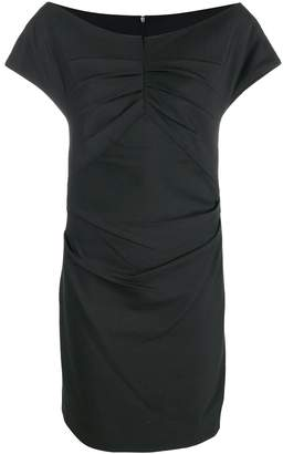 Helmut Lang fitted short dress