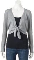 Apt. 9 Women's Tie Front Shrug