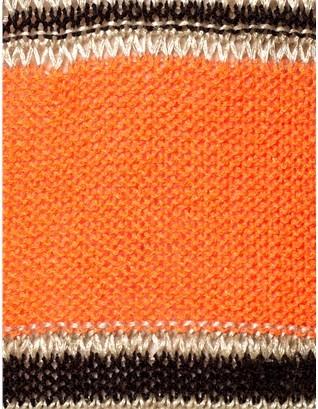 Thakoon Nutmeg Striped Linen Jumper