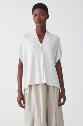 Cos Organic Cotton Kimono Style Cardigan