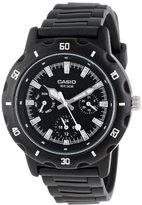 Casio Women's LTP1328-1EV Sport Classic Black Analog Dial and Resin Strap Watch