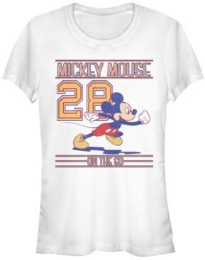 Fifth Sun Women's Disney Classic Mickey Since 28 Short Sleeve T-shirt