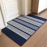 AHAWIFEHAPPYDAYHU Long stripe arpet door mat Door Mats in the hall Indoor mats The door Household use Non-slip Bedroom Living room door mats