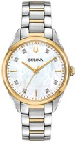 Bulova Women's Sutton Diamond Two Tone Stainless Steel Watch - 98P184