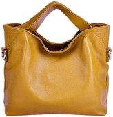 PASTE Women's Wrist Genuine Leather Totes/Shoulder Bag,Handbag
