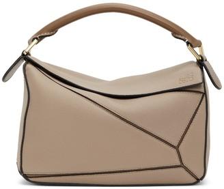 Loewe Mini Puzzle Bag, Sand