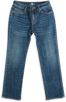 7 For All Mankind Medium Blue Standard Jeans - Boys