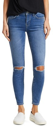 Current/Elliott The Stiletto Distressed Ankle Jeans