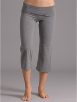 So Low Solid Crop Rollover Pant.
