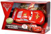Mattel Cars 2 - 1:24 Scale Lights & Sounds Vehicle - Lightning McQueen - Bilingual Edition