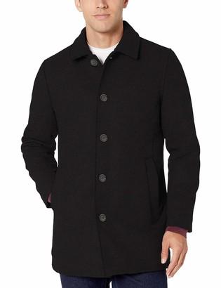 Amazon Essentials Wool Blend Heavyweight Car Coat Navy XXL