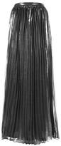 Rare **Metallic Maxi Skirt