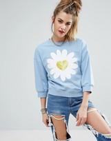 Love Moschino Daisy Sweatshirt