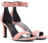 Saint Laurent Grace 80 Suede Sandals