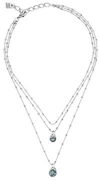 Uno de 50 Stars Rain Multi Row Pendant Necklace, 12-16