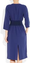 Jil Sander Midnight crepe dress
