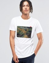 Hype T-Shirt With Camo Pocket