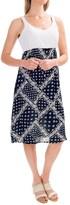 Studio West Crochet Lace Bodice Dress - Built-In Bra, Sleeveless (For Women)