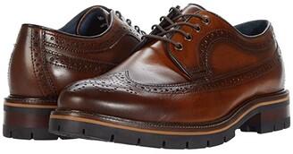 Johnston & Murphy Cody Longwing (Tan Full Grain Leather) Men's Shoes
