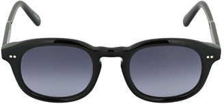 Chimi 102 Black Round Acetate Sunglasses