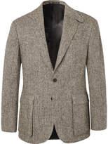 Polo Ralph Lauren - Brown Slim-Fit Herringbone Wool Suit Jacket