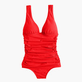 J.Crew Long torso ruched femme one-piece swimsuit