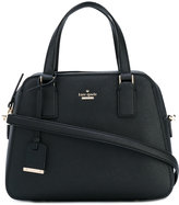 Kate Spade zipped tote - women - Calf Leather/Polyester/Polyurethane - One Size