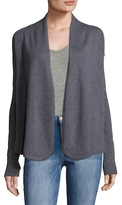 Inhabit 12gg Asymmetrical Cashmere Cardigan