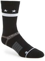 Strideline Men's 'Black Star' Strapped Fit 2.0 Socks