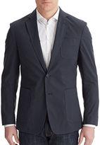 Billy Reid Rustin Coated Cotton Jacket