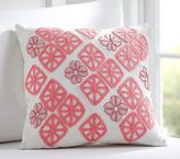 Pottery Barn Kids Diamond Petal Pillow