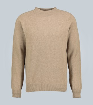 Sunspel Lambswool crewneck sweater